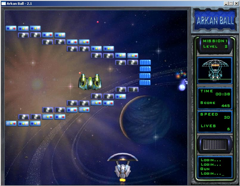 Krakoid arkanoid style game, krakoid arkanoid style game, image, screenshots, screens, picture, photo, render