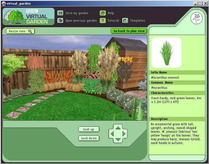 landscaping virtual garden